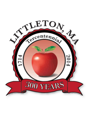 Littleton 300th Anniversary Logo