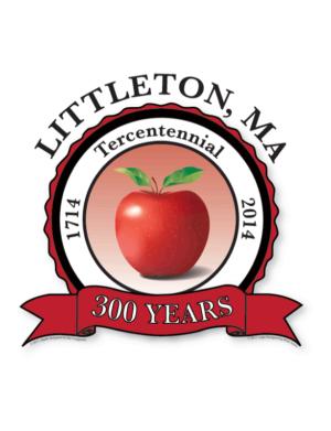 Littleton 300th Anniversary Logo