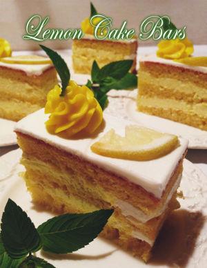 Lemon Cake Bars