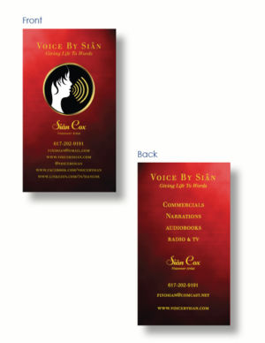 Sian Cox Business Card