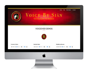 Voice By Sian WordPress Website