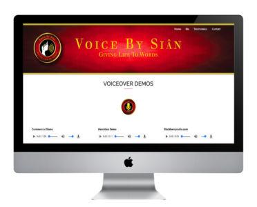 Voice By Sian WordPress Website
