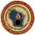 RTS-M Ft. McCoy Coin Logo